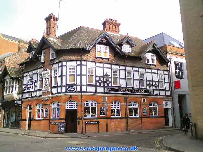oude pub oxfordshire